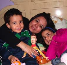 Juanita y familia