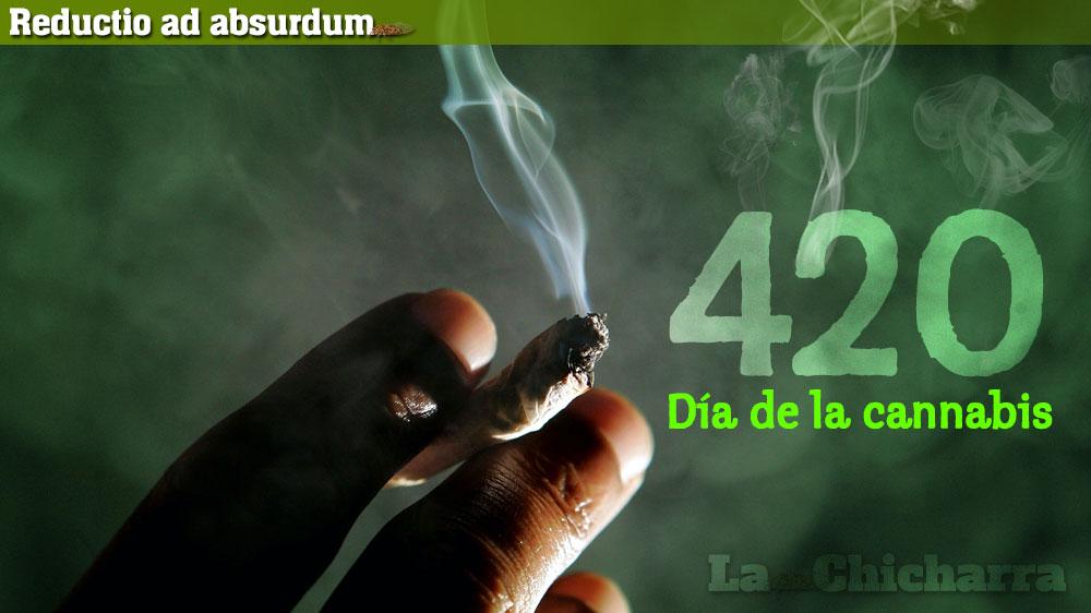 Reductio ad absurdum: 4 20, Día de la cannabis