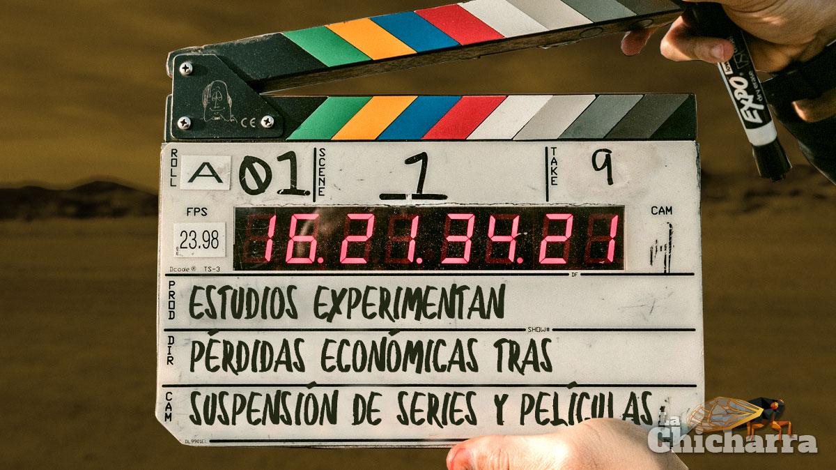 Estudios experimentan pérdidas económicas tras suspensión de series y películas
