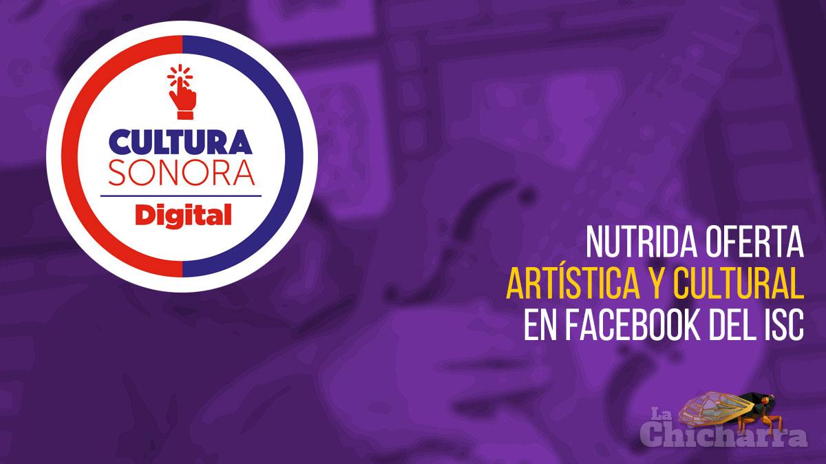 Nutrida oferta artística y cultural en facebook del ISC