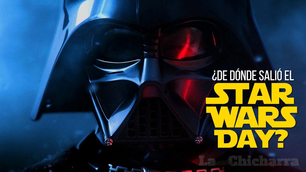 ¿De dónde salió el Star Wars Day?