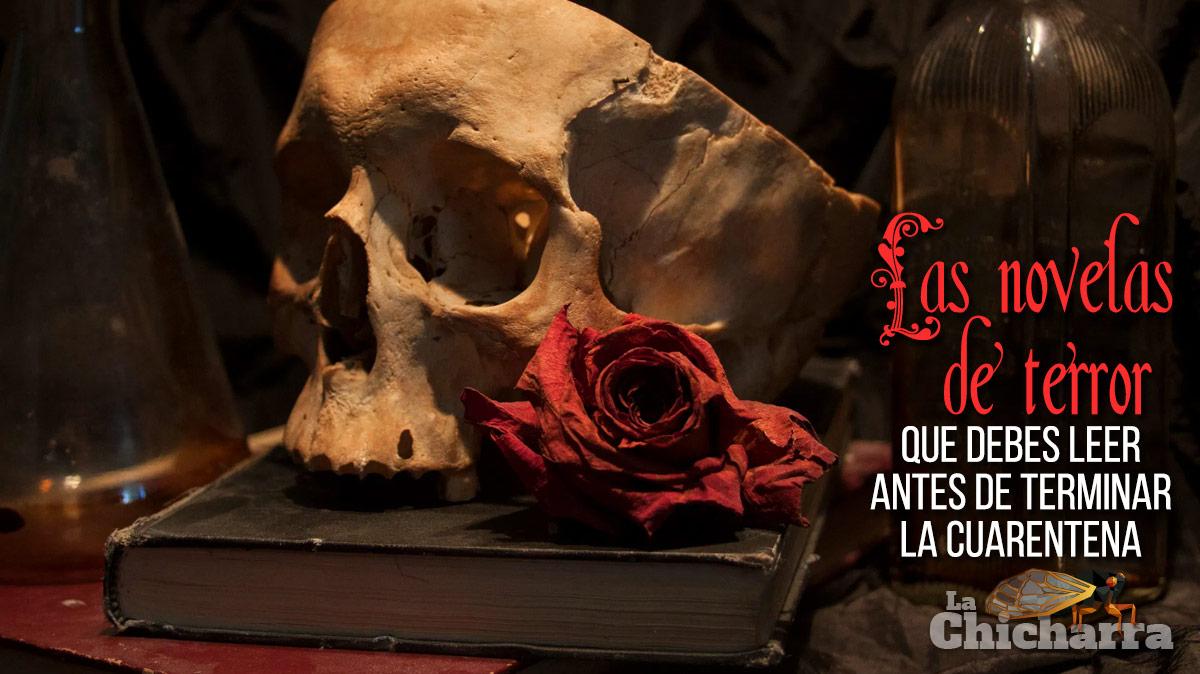 Las novelas de terror que debes leer antes de terminar la cuarentena