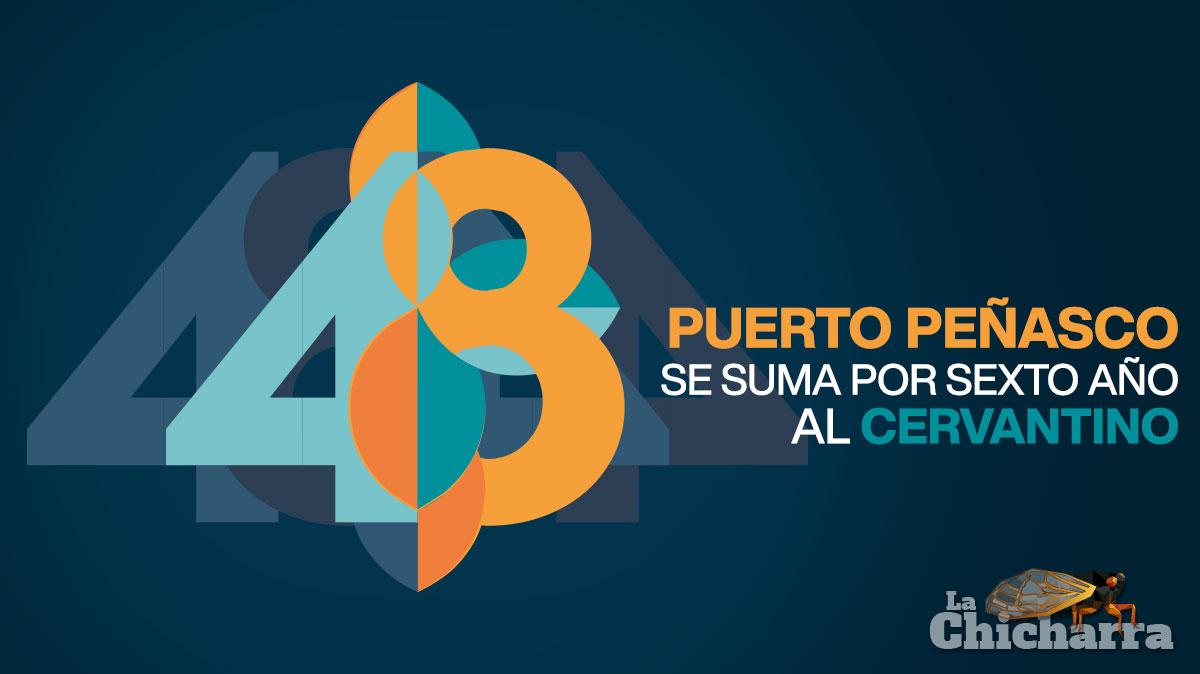 Puerto Peñasco se suma por sexto año al Cervantino